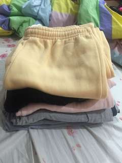 (ALL FOR 300 PHP) Assorted Jogging Pants
