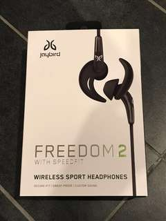 BRAND NEW Jaybird Freedom 2 wireless sport headphones
