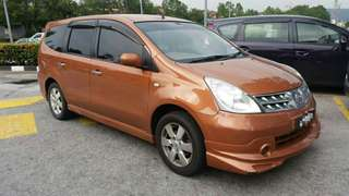NISSAN GRAND LIVINA 1.8 FOR SAMBUNG BAYAR
