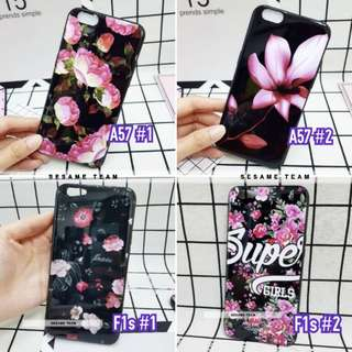 Oppo F1s A57 Glossy Flower Case