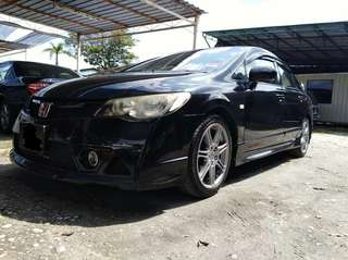 HONDA CIVIC FD 1.8 FOR SAMBUNG BAYAT