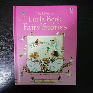 The Usborne : Little Book of Fairy Stories ( Hard Cover )