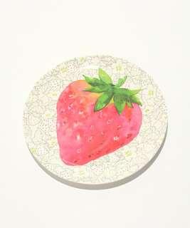 《Afternoon  Tea 💐》 手繪風草莓餐盤 20cm🔎日本長期團🔍
