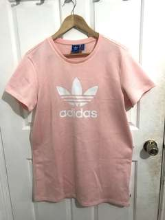 Baby pink adidas sweater dress