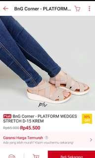 #diskonloh wedges platform