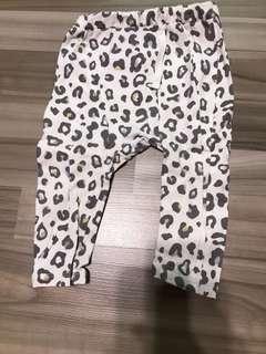euc seed heritage grey pants with camouflage print 6-12m