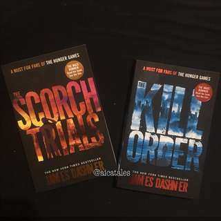 Hunger Games - Scorch Trials and Kill Order Bundle