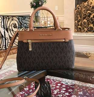 Repriced!!! Brand New Michael Kors Hailee Signature XS Satchel Crossbody with Gift Receipt