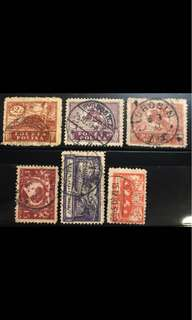 Poland early stamps Lot 5v