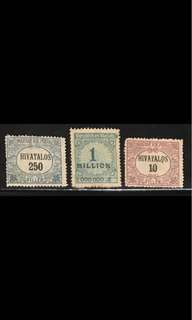 Germany stamps high denominations 3v Used/mint