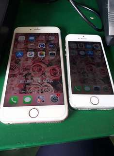 iPhone 6s Plus and iPhone 5s