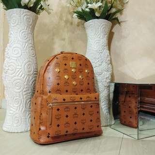 MCM Backpack (Brown)