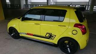 Suzuki swift sport (m) Revised off peak