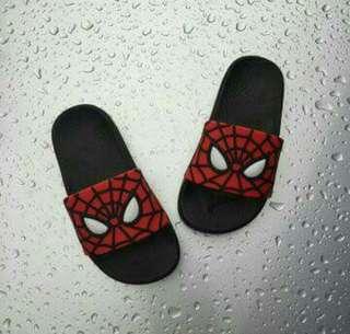 Kids spiderman sliper