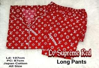 Piyama Celana Panjang Lv Supreme