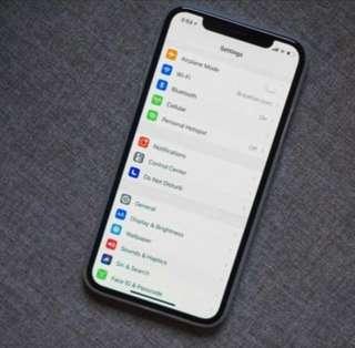 *Iphone X 64gb + Apple watch 3 GPS