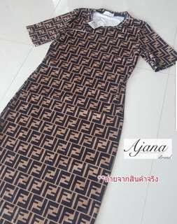 New !!!!! New  ✨FENDI Maxi Dress