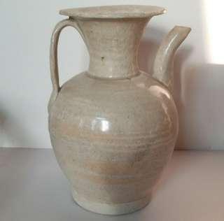 (享分享,非賣品)宋青白釉壺 , 高約18.5cm  謝謝欣賞!