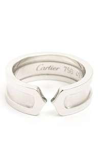 Cartier Doe bulldog logo ring