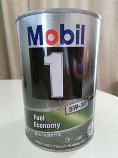 日本鐵罐美孚Mobil 1號 5W-30全合成機油(公司貨)