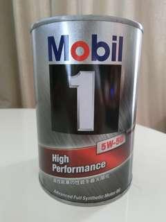日本鐵罐美孚Mobil 1號 5W-50全合成機油(公司貨)