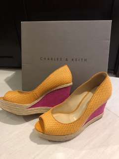Charles & Keith Wedge