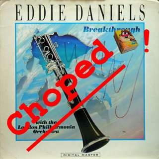eddie daniels Vinyl LP used, 12-inch, may or may not have fine scratches, but playable. NO REFUND. Collect Bedok or The ADELPHI.