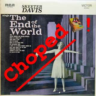 skeeter davis Vinyl LP used, 12-inch, may or may not have fine scratches, but playable. NO REFUND. Collect Bedok or The ADELPHI.