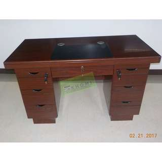 EXECUTIVE TABLES WITH DRAWERS--KHOMI