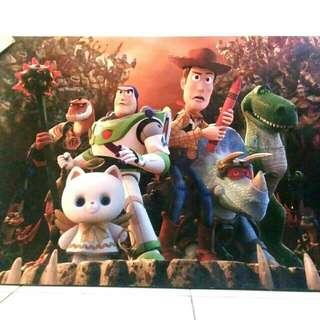 Hiasan Dinding uk. besar Toy Story