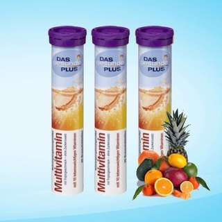 DAS Gesunde PLUS, 20 Tablet MultiVitamin C