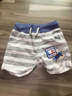 bn next direct baby shorts for 6-9m