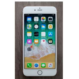 Iphone 6S Plus ( Rose Gold ) With Warranty