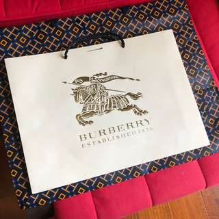 🚚 burberry 紙袋