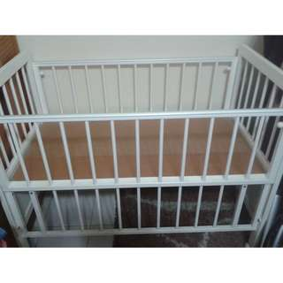 Baby Cot Brand Twins Baby (w/out Mattress)
