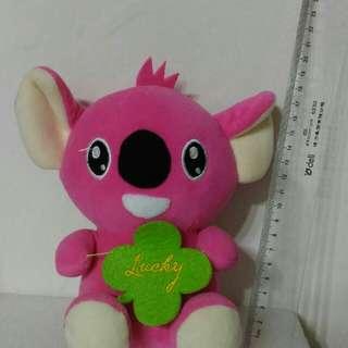 🚚 粉紅色無尾熊史迪奇
