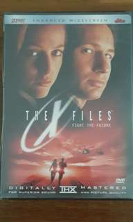X-Files movie : Fight The Future DVD