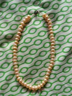 Freah water pearl necklace