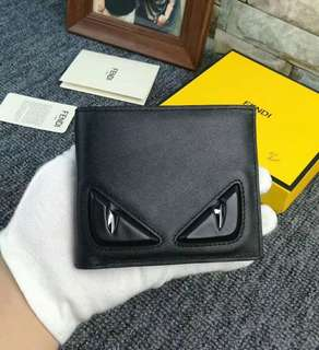 Fendi Mens Black Wallet