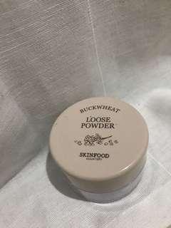 Skinfood buckwheat powder brightening lavender