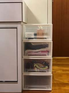 BN Transparent Drawer Box