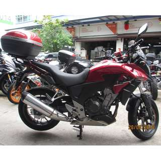 Honda cb400x 2015 $15.5k D/P $500 or $0 With out insurance (Terms and conditions apply. Pls call 67468582 De Xing Motor Pte Ltd Blk 3006 Ubi Road 1 #01-356 S 408700.