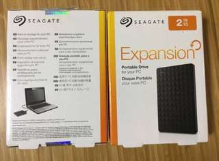 Seagate 2TB Expansion Storage