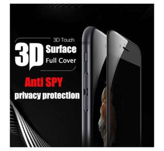 iPhone 8Plus Privacy Tempered Glass Screen Protector