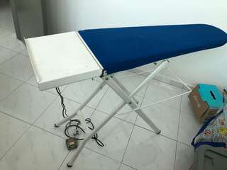 Steam iron with vacuum iron board for sale