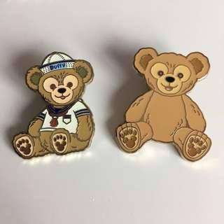 Duffy pins 迪士尼襟章