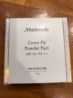 Mamonde: Cover Fit Powder Pact (SPF 30/PA+++)