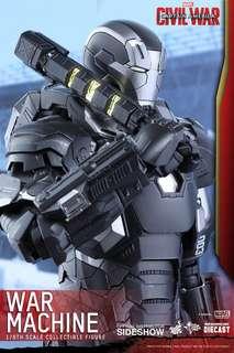 罕有全新啡盒未開 Hottoys MMS344 D-15 Captain America Civil War Machine Mark 3 Hot Toys