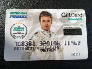 PETRONAS F1 limited edition reloadable