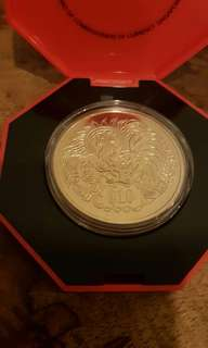 1993 year rooster coin set